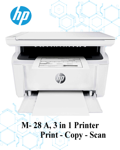 Hp-laser-jet-printer-m-28-a-print-copy-scan-3-in-one-at-compitable-price-in-bangladesh