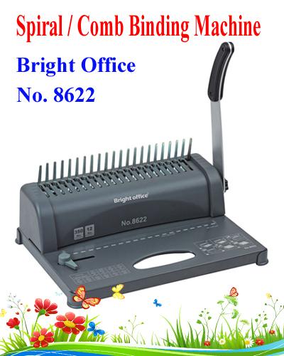 Spiral-combl-binding-machine-bright-office-8622-c-best-quality-low-price-inDhaka-Bangladesh
