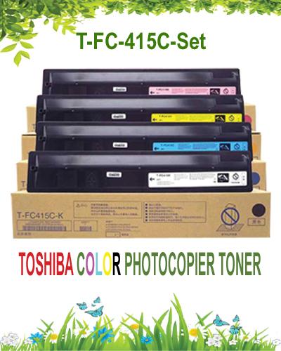 Toshiba-color-photocopier-toner-set-t-fc-415c-c-k-y-m-cyan-yellow-black-magenta-original-genuine-car